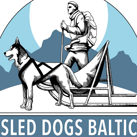 sled dogs baltic